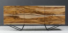 """Ещё один экземпляр моего фирменного комода """"Модель 679"""" с фасадами из тика. Сделан на заказ для загородного дома в Подмосковье."""