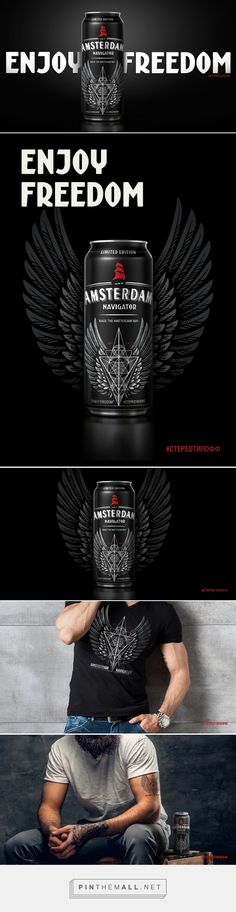 Amsterdam Navigator Tattoo Limited Edition - Packaging of the World - Creative Package Design Gallery - http://www.packagingoftheworld.com/2017/07/amsterdam-navigator-tattoo-limited.html