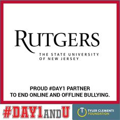 Here at #Rutgers, we are proud to partner with colleges and universities all over the US to put an end to bullying, harassment, and humiliation. Faculty, staff, students, and administration are bringing our free and effective program to their campuses and changing their communities for the better!
