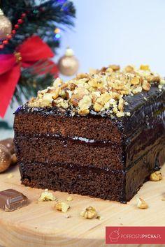 Staropolski piernik Polish Cake Recipe, Polish Recipes, Polish Food, Sweet Recipes, Cake Recipes, Food Cakes, Just Desserts, Baked Goods, Food And Drink