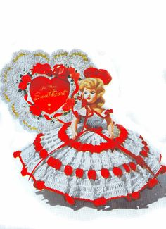 Vintage Crochet Patterns Doll Fairytale Clothes Bride Bridesmaid Groom Bo Peep Costumes Doll Sizes 7 8 9 10 PDF eBook Instant Download
