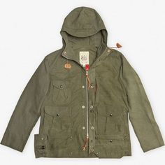 Monitaly Army Tent Mountain Parka.