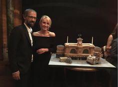 J.K. Rowling Celebrates Magical Birthday Party