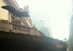 On facade of Grand Central Terminal, NYC