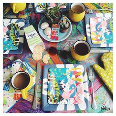 Buenos Días! Empecemos con mucha alegría y color nuestra semana. Con detalles alegres, alegramos nuestro día.