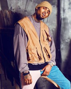 Have a good weekend 💜🌟 Chris Brown Fotos, Chris Brown Art, Chris Brown Style, Breezy Chris Brown, Chris Brown Outfits, Chris Brown Wallpaper, Chris Brown Pictures, Arte Do Hip Hop, Chirs Brown