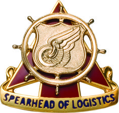 Regimental Crest Transportation (Spearhead of Logistics)