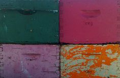 bee hive boxes by indigoweasel via Flickr