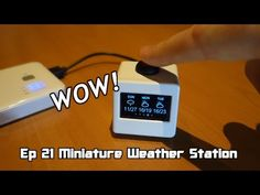 Miniature Weather Station - ESP8266: 32 Steps (with Pictures)