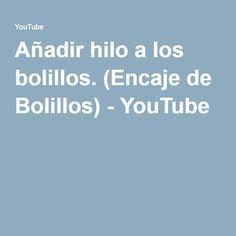 Tenerife, Youtube, Ideas, Folklore, Bobbin Lace, Ganchillo, Lace Necklace, Trapillo, Tips