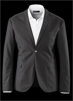 Casual Porsche Design Blazer made of high end windproof cotton fabric from Italy.
