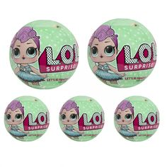 2907b22a07 L.O.L. LOL Surprise! Doll Series 2 Let's be Friends 7 Layers By MGA x5  Sealed Packs