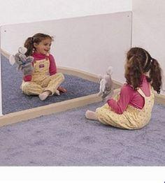 Whitney Brothers 4' x 2' Acrylic Mirror - SensoryEdge
