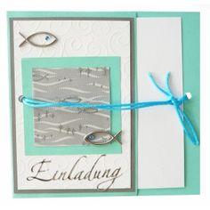 Kommunionkarten selbst gestalten | Eine wunderschöne Idee zum Nachmachen. Unsere Anleitung gibt ...