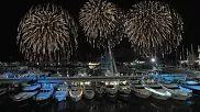 NYE Fireworks in Genoa, Italy