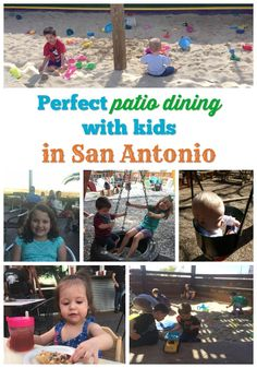 Perfect patio dining with kids in San Antonio