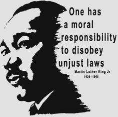 Martin Luther King Jr. Quote - Just Laws vs. Unjust Laws