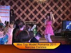 Mini Top Model Romania 2011-Narcisa Carstea Romania, Mini, Model, Scale Model, Models, Template, Pattern, Mockup