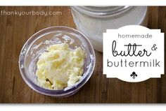 Easy Homesteading: How To Make Butter And Buttermilk