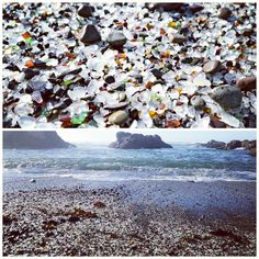 Yesterday we stopped at Glass Beach at Fort Bragg. A beach of seaglass is beautiful but then you start to realize it only exists because the generation before us (and before them) dumped all their trash in the ocean.  #traveling #travel #igtravel #instatravel #cali #roadtrip #pch #highway1
