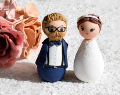 Hey, I found this really awesome Etsy listing at https://www.etsy.com/listing/556286673/kokeshi-wedding-topper