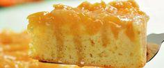 Foto - Receita de Bolo de laranja em calda
