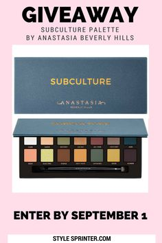 Subculture Palette by Anastasia Beverly Hills