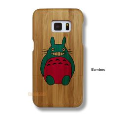 Totoro Galaxy S7 Case - Galaxy S7 Solid Total Wood Case - SYTRE0030