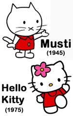 Musti Character | Little did I know that Miffy was created in 1955 * and that Sanrio's ...