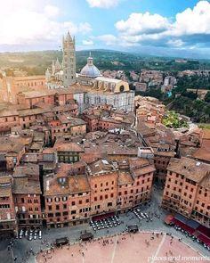 In Siena, Tuscany, Italy.
