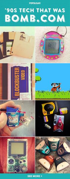 Who remembers these? These 90s tech was seriously the bomb.com