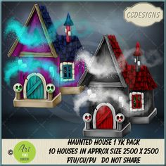 Haunted House 1 YK Pack (FS/CU/S4H) [CCD] : Scrap and Tubes Store, Digital Scrapbooking Supplies Scrapbook Supplies, Digital Image, Creative Design, Digital Scrapbooking, Craft Projects, Packing, Store, House, Vector Illustrations