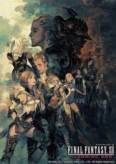 「ファイナルファンタジーXII ザ ゾディアック エイジ」の発売日が決定! 主要キャラクターを描いた吉田明彦氏の新アートも公開