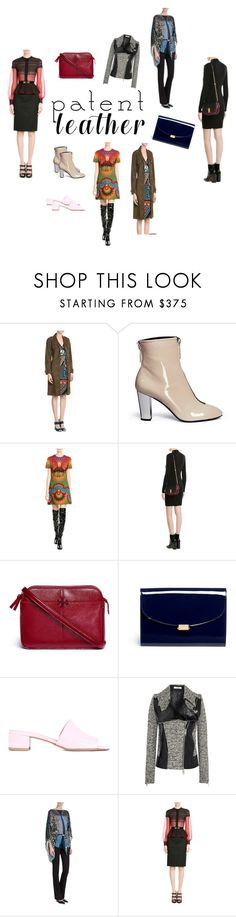 """Patent Leather..**"" by yagna ❤ liked on Polyvore featuring Pierre Hardy, Giuseppe Zanotti, Valentino, Marc Jacobs, Tory Burch, Mansur Gavriel, Maryam Nassir Zadeh, Bouchra Jarrar, Roberto Cavalli and Alexander McQueen"