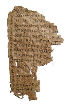 An attractive Egyptian Coptic papyrus Christian letter Vertical Text, Penmanship, Egyptian, Period, Auction, Lord, Christian, Lettering, Calligraphy