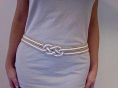 inspiration and realisation: DIY fashion blog: sailor's belt... I love this!