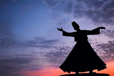 Statue of Rumi in Izmir.  Somebody I know practisch this..Dervisch Dancing. One hand up to God and one to the ground...to be connected, round and round.....and recive a devine messege. Beautiful.