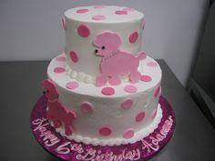 #13  2 tier poodle cake at delriocakes.biz