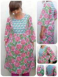 Amy Butler Cameo dress: Simplicity 2363