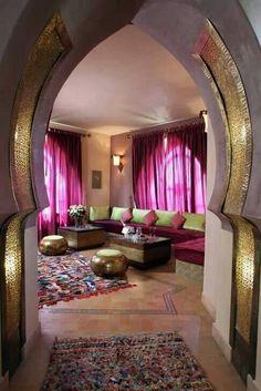 Moroccon interior design