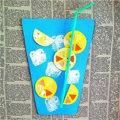 Diy Crafts - Summer Crafts for Preschoolers 96 22 Best Preschool Summer Art Projects Images O. Diy With Kids, Summer Crafts For Toddlers, Art For Kids, August Kids Crafts, Preschool Summer Crafts, Art Projects For Toddlers, Easter Crafts, Christmas Crafts, Preschool Projects