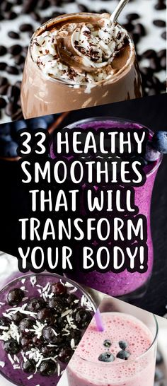 33 Weight Loss Smoothies That Will Help Transform Your Body! - TrimmedandToned