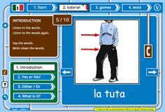 Learn Italian games, lessons   tests free online web app | fun learn Italian website for kids   adults
