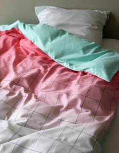 New Scholten & Baijings Textiles for Hay - Design Milk Home Design Diy, Interior Design, Hay Design, Love Design, Grid Design, Pink Design, Design Shop, Magazine Deco, Bed Duvet Covers