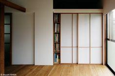 押入や和室の襖の代わりにも使える白い建具