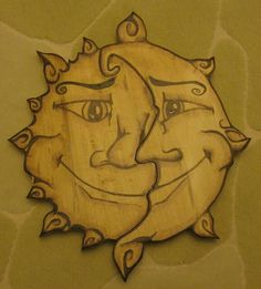 Pyrography and scrollsaw