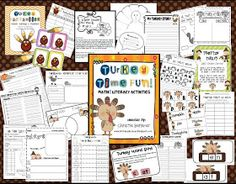 "First {& 2nd} Grade Fever!: Just Say ""NO"" to Turkey! {Writing Craftivity}"