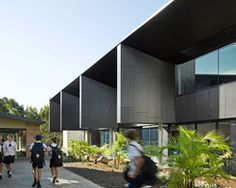 wilson architects designs learning hub for st.andrew anglican college