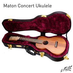 Maton Concert Ukulele. #handmade #ukulele #MadeInAustralia