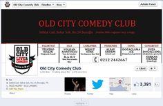 Old City Comedy Club'ın 2012-2013 sezonu Facebook sayfası
